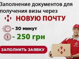 Подача документов на Польскую визу по новой почте. Виза