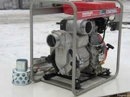 Подача воды, водозабор Мотопомпа дизель