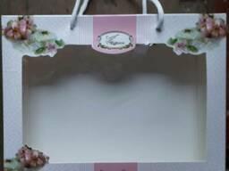 Подарочная коробка для полотенец