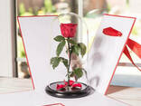 Подарочная коробка для розы в колбе Lerosh - 43 см, Красная SKL15-138977 - фото 2