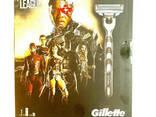 Подарочный набор Gillette Justice League бритва со сменной кассетой 1шт + гель для бритья - фото 2