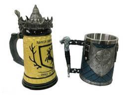 Подарочный набор Кружка Game Of Thrones House Герб Баратеонов Игра Престолов и King In. ..