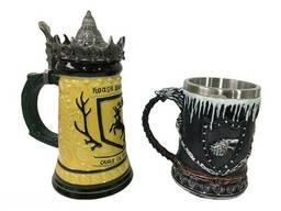 Подарочный набор Кружка Game Of Thrones House Герб Баратеонов Игра Престолов и Winter. ..