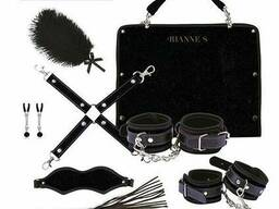 Подарунковий набір для BDSM Rianne S - Kinky Me Softly Purple: 8 предметів для. ..