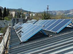 Подбор солнечных коллекторов и дополнительного оборудования
