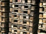 Поддон деревянный 1200х800 2 сорт облегченные - фото 1