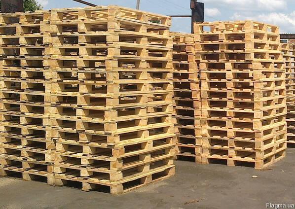 Поддон деревянный 1200x800 , 1200x1000 ( новый )