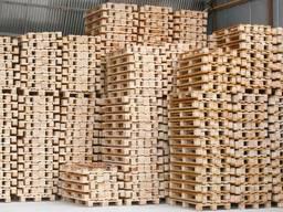 Поддон деревянный. 800х1200. 1000х1200. б. у. /новый