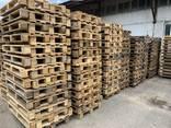Поддон деревянный б/у 1200x800 , 1200x1000 (после ремонта) . - фото 3