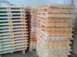 Поддон деревянный, под кирпич 800*1200