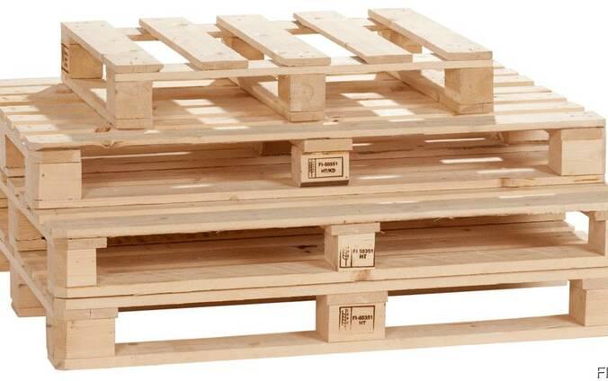 Поддон и евро поддон деревянный новый продам