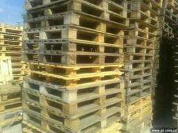 Поддоны деревянные 1000*1000 на брусах