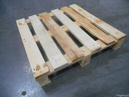 Поддоны деревянные 800х1200 (1 т. , 2 т. ) UIC, EPAL