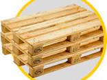 Поддоны деревянные б/у в Киеве, ремонт деревянных поддонов - фото 1