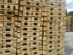 Поддоны деревянные разных размеров