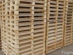 Поддоны деревянные с фитосанитарным штампом (паллеты)