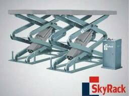 Подъемник ножничный 3,5т SkyRack Basic SR-3035