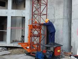 Подъемник строительный грузовой ПСМ-700 (1000)