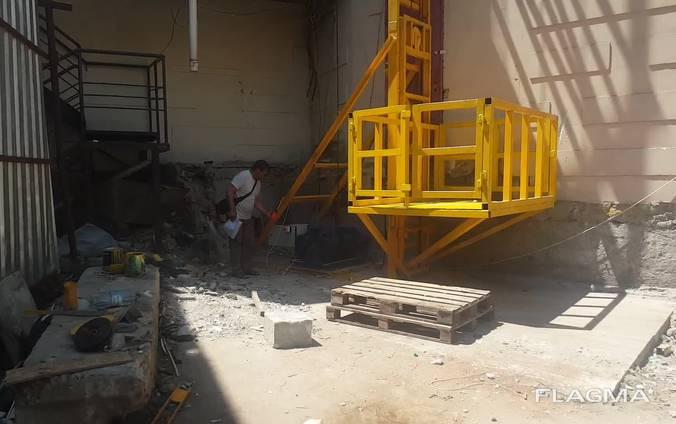 Подъемник строительный мачтовый от производителя (Украина)
