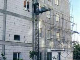Производство фасадных подъемников под ключ.