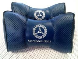 Подголовник (подушка) Mercedes BENZ BLUE