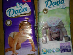 Подгузники Dada Premium. Extra Soft. Extra Care. Оптом Дада