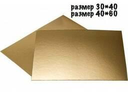 Подложки прямоугольные, квадратные (картонные)