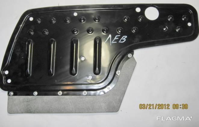 Подножка бампера ГАЗ 3307 Брызговик облицовки боковой левый