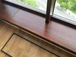 Подоконники деревянные из массива. Деревянные подоконники