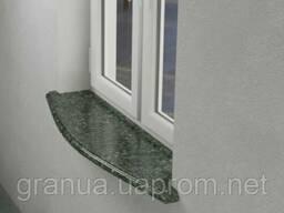 Подоконники и отливы из Чевновского гранита 100х30х3 см