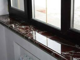 Подоконники из мрамора и гранита плитка мрамор гранит - photo 6