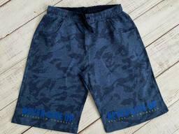 Подростковые удлиненные трикотажные шорты для мальчика 164