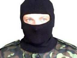 """Подшлемник зимний """"Балаклава"""" с одним прорезом для глаз"""