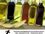 Техническое масло подсолнечное, рапсовое, соевое ит. д. - фото 2