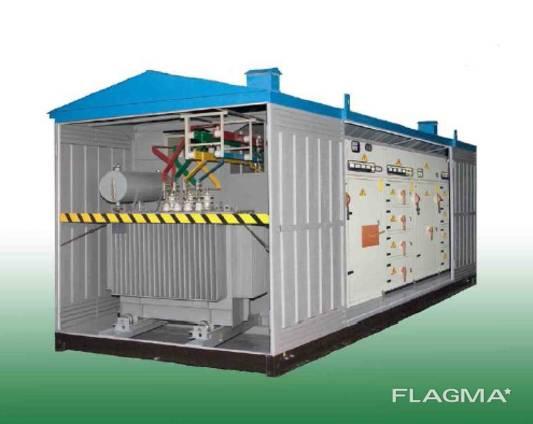 Подстанция трансформаторная комплектная серии КТПГ-100…1000/10(6)0,4 У1 (для гор. сет. )