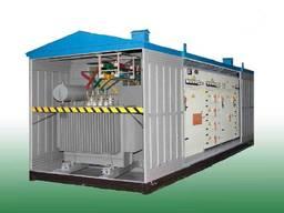 Подстанция трансформаторная комплектная серии КТПГ-100…1000/10(6)0, 4 У1 (для гор. сет. )