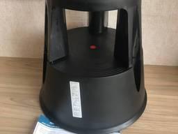 Подставка на колесах для выкладки товара Step черный цвет