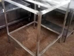 Подставка под пицца печь XXL из нержавеющей стали (AISI 201