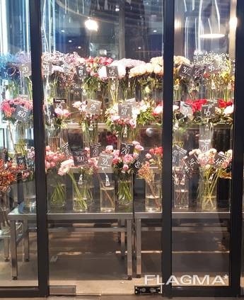 Подставки для цветов из нержавейки для цветочных магазинов