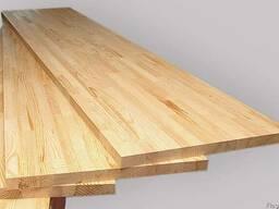 Мебельный щит из массива сосны 18мм