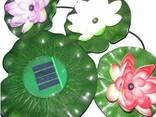 Подсветка для бассейна - плавающий лотос на солнечной энерги - фото 3