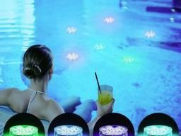 Подсветка подводная RGB для аквариума, фонтана, водоема 10Le