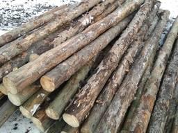 Подтоварники столб подтоварник деревянный кругляк Сосна