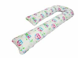 Подушка для беременных Kidigo J образная Сова (с наволочкой)