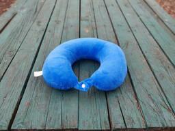 Подушка LSM для путешествий 30х30х9 синяя (105-102)
