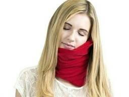 Подушка шарф для отдыха в дороге Travel Pillow