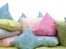 Подушка силиконовая, подушка пух/перо, домашний текстиль