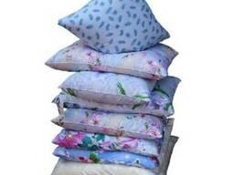 Подушка ватная, домашний текстиль