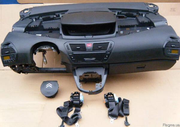 Подушки безопасности airbag ремни панель Citroen C4 picasso