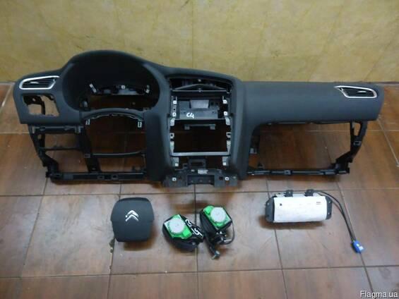 Подушки безопасности ремни торпеда б/у Citroen C4 2004-2013